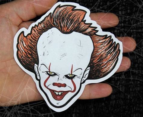 Pennywise-it 2017-stephen King Inspired Large Paper
