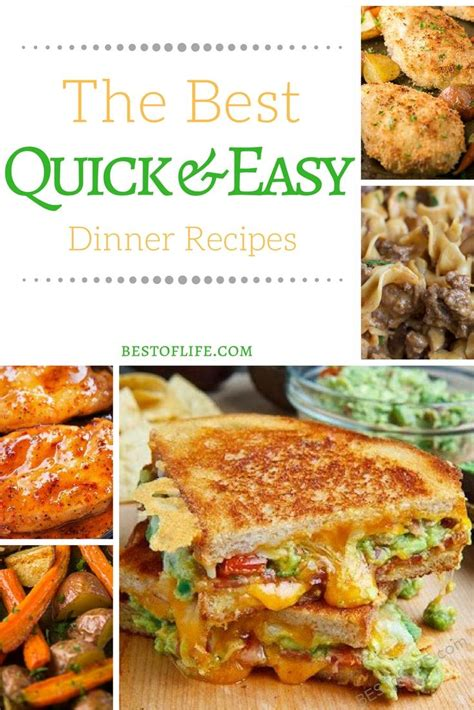 best dinner recipes 28 best fast dinner recipe 12 stupidly easy recipes quick dinner ideas and desserts