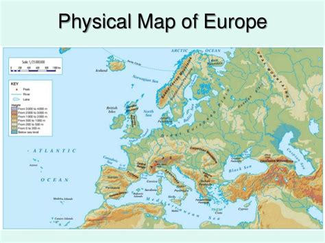 physical geography  europe
