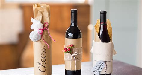 3 Beautiful Handmade Wine Bottle Gift Wrap Ideas Wine