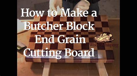 butcher block  grain cutting board