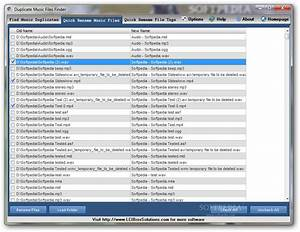 Portable duplicate music files finder download for Documents about music