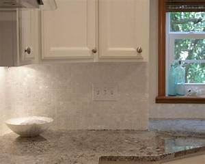 Mother Of Pearl Tile Seamless Shell Tiles Kitchen