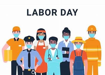 Labor Coronavirus Professions Worker Actual Important Concept