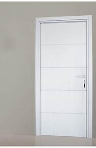 Portes D39interieur Seymour Finition Chene Blanc Porte