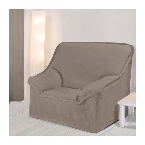 housse pour canape housse fauteuil unie taupe