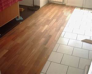 pose vitrification de parquet en teck dans salon With mondial parquet