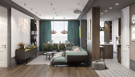 color palette for home interiors a pair of modern homes with distinctively bright color themes