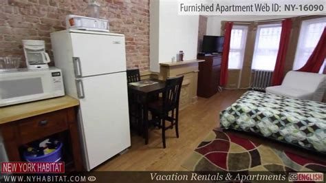 Video Tour Of A Furnished Studio Apartment In Bushwick