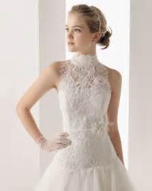 high neck wedding dresses how to wear a high neck wedding dress