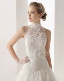 dress to wear to wedding how to wear a high neck wedding dress