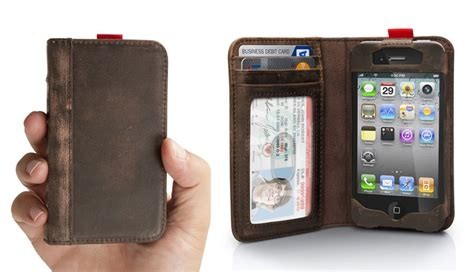 iphone wallet bookbook leather iphone and wallet the green