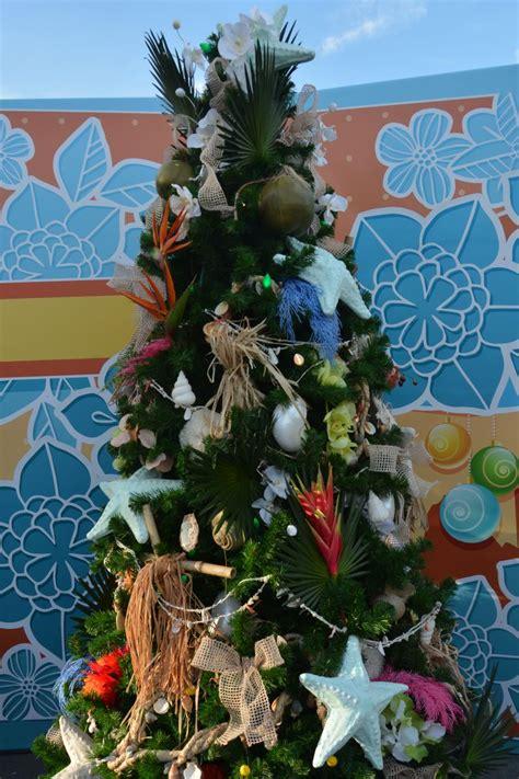 disney world christmas trees new the christmas tree trail opens at disney springs 2957
