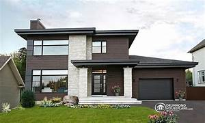 Modern Contemporary House Plan Modern Ranch House Plans ...