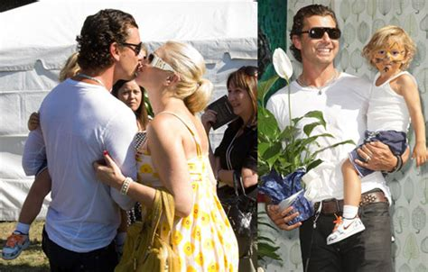 Photos of Gwen Stefani, Gavin Rossdale, and Kingston ...