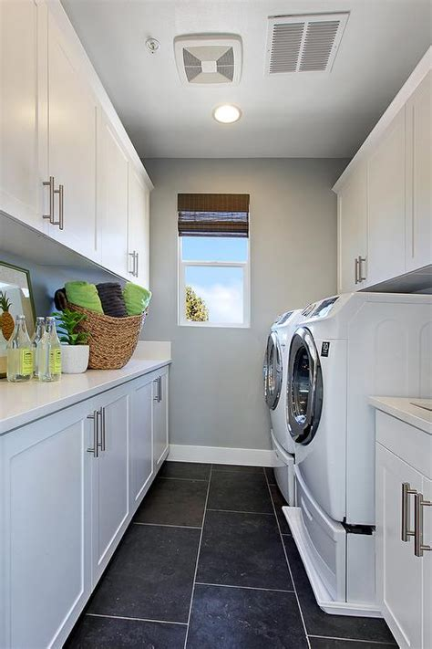 Galley Kitchen Ideas Pictures - galley laundry room contemporary laundry room
