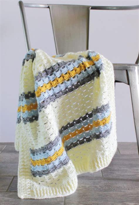 modern crochet baby boy blanket patterns daisy