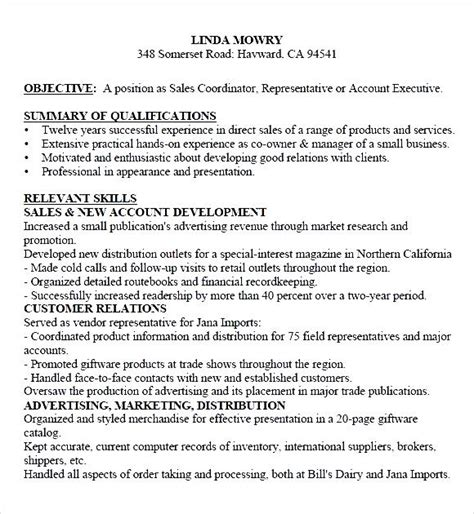 Free Resume Sles by Functional Sales Resume Pdf Free Sles Exles