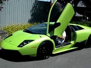 Lime Green Lamborghini Murcielago LP 670 4 SuperVeloce SV
