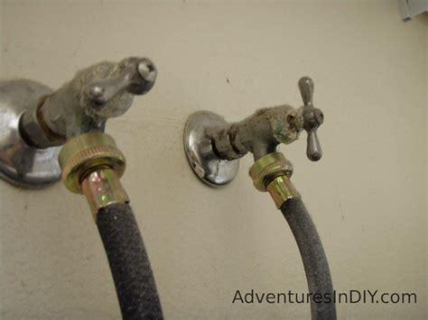 replacing broken water valves adventures  diy