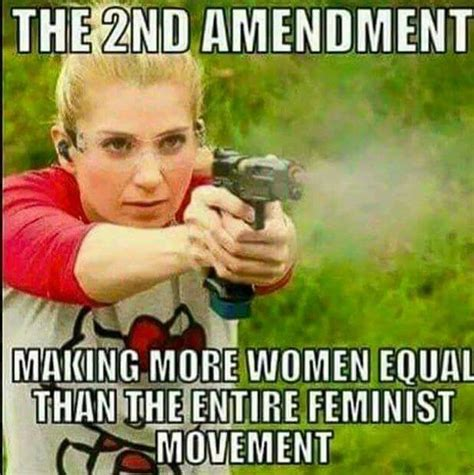 Pro Gun Memes - pro gun meme has hardcore message for quot feminists quot allen b west allenbwest com