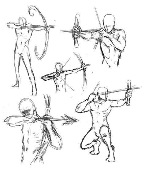 drawing bow poses  thealtimate  deviantart