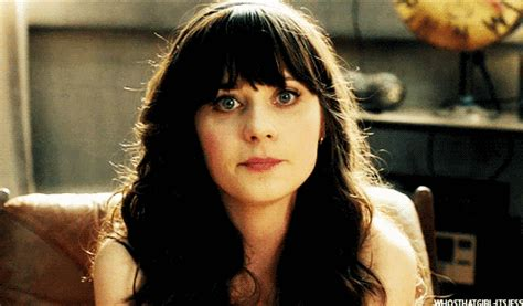 Zooey Deschanel Waiting Find Share On Giphy