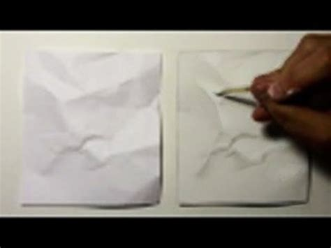 realism challenge  crumpled paper youtube