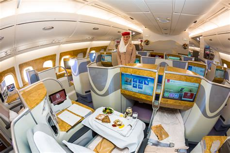 Business Class Cabin Emirates Emirates To Launch A380 Flights In Pakistan
