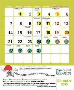 Calendario Escolar 2015 El Salvador