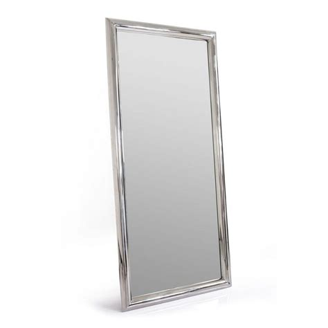 meuble haut bureau miroir rectangulaire en inox