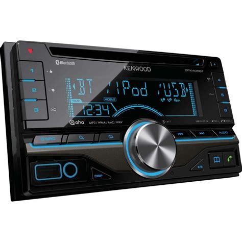 kenwood dpx bt double din car stereo  built  blueto