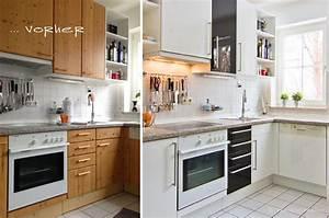 Küchen Fronten Austauschen : vorher nachher k chen vorher nachher ~ Orissabook.com Haus und Dekorationen