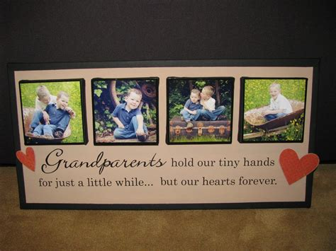 ideas from baby to grandparents for christmas canvas crafting gifts grandparents and gifts