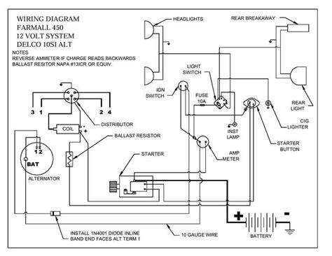 Wiring Diagram Farmall International Harvester