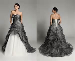 black dresses for weddings new black and white wedding dresses dress journal