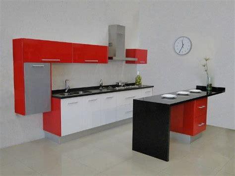 la formula  decorar cocinas integrales minimalistas