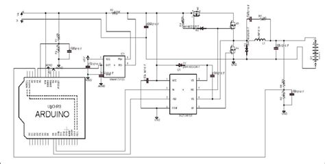 Schematic Arduino Based Solar Charge Controller Using