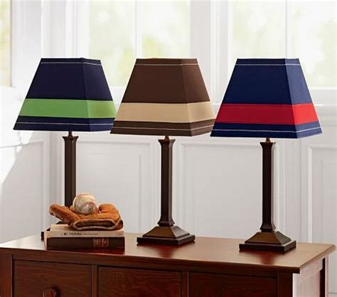 Simple Shade & Mason Touch Lamp Base - Pottery Barn Kids