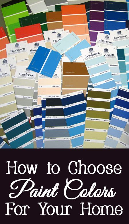how to choose paint colors for your home color and paint
