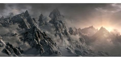 Concept Art The Elder Scrolls Skyrim