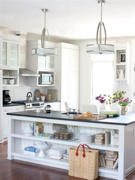 hanging kitchen lights island kitchen lighting ideas hgtv