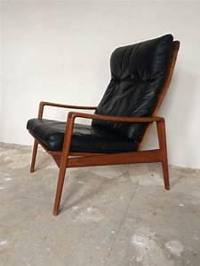 Sessel 60er Design : arne wahl iversen komfort lounge chair teak 60s danish ~ A.2002-acura-tl-radio.info Haus und Dekorationen