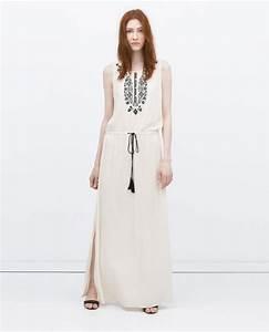 Robe Blanche Longue Boheme : robe boheme longue 2016 la mode des robes de france ~ Preciouscoupons.com Idées de Décoration