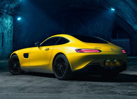 2017 Mercedes-amg Gt Priced From 2,125, Vinyl Seats