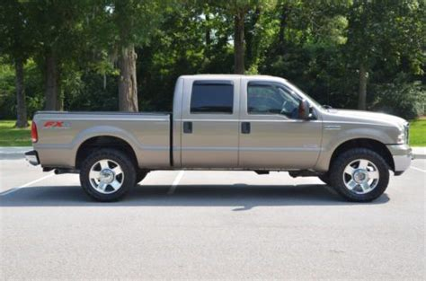 sell   ford  crew cab fx  diesel