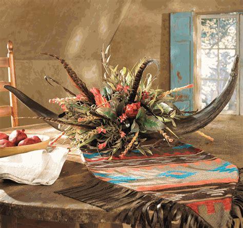 double horn floral arrangement