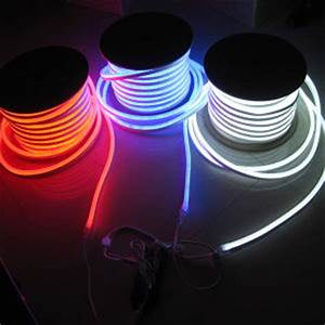 China Cool White Flexible LED Neon Rope Light 80LEDs M