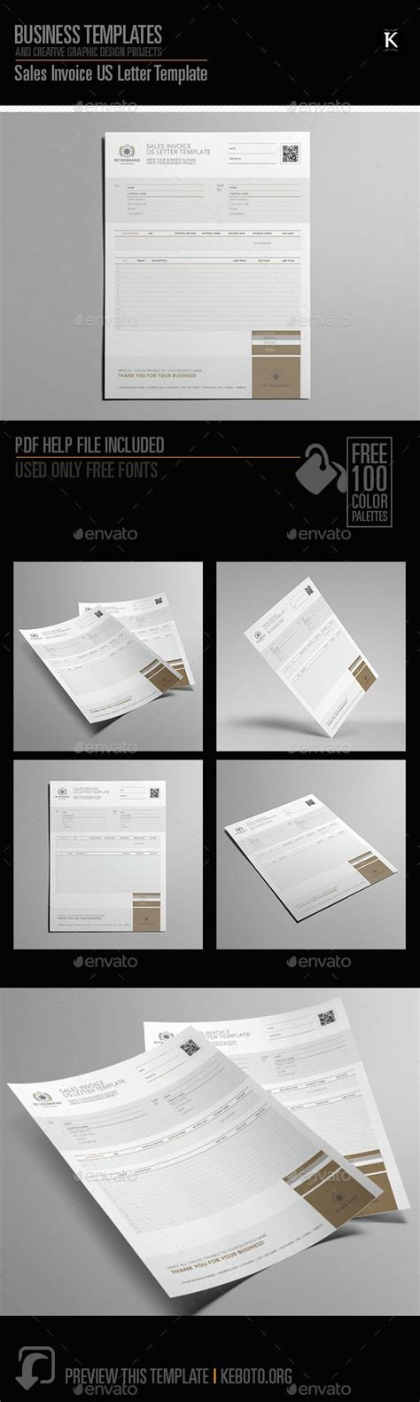 sales invoice  letter template proposals invoices