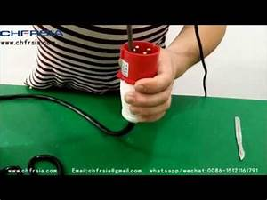 380 415v 4p Industrial Plugs Wiring Demonstration